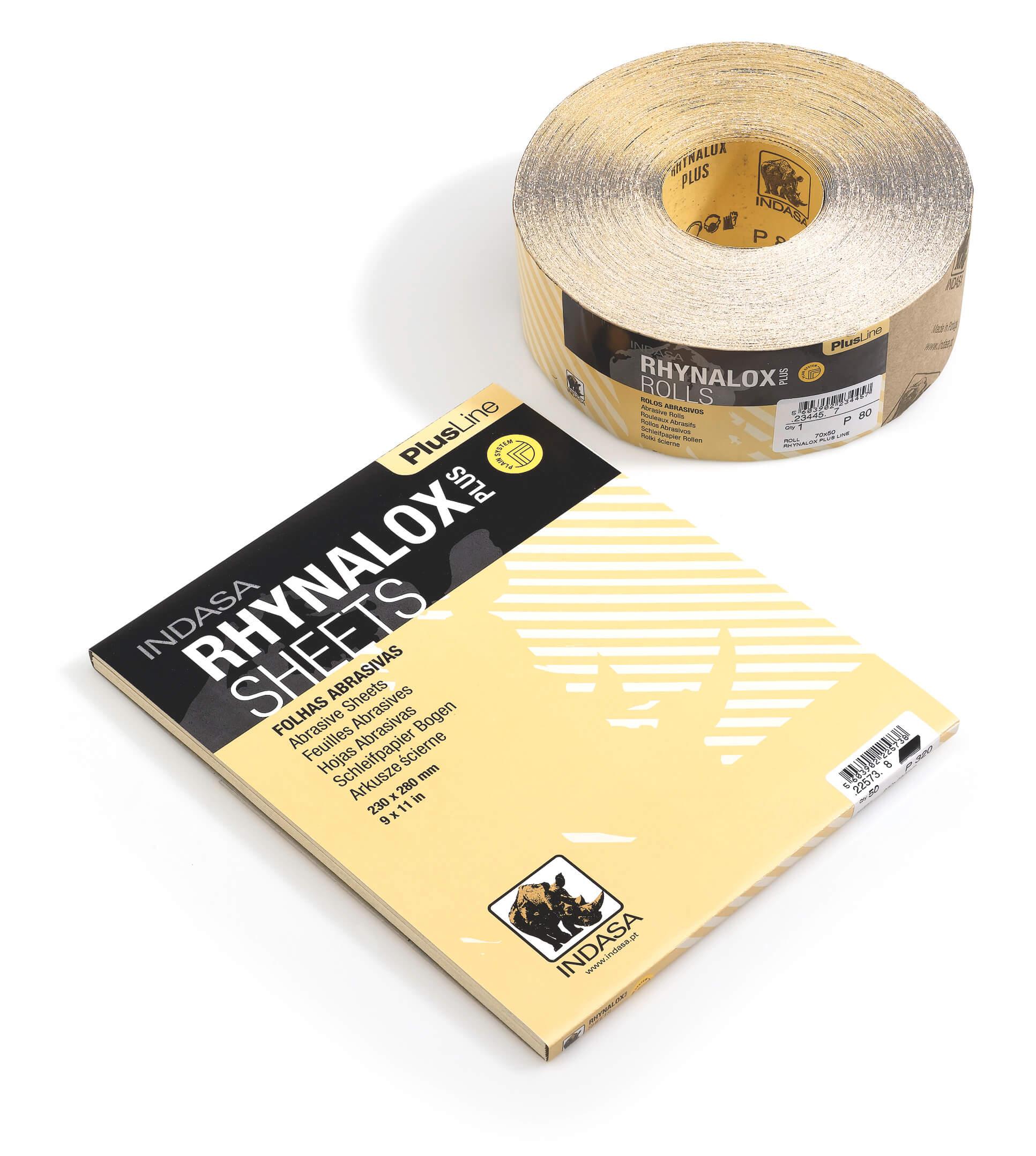 Шліфувальні рулони на папері RHYNALOX PLUS LINE-0